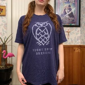 Night Shift Brewing Share the Night Graphic Tee
